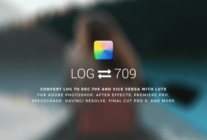 LOG to 709 LUTs Conversion Pack (Free) — by IWLTBAP