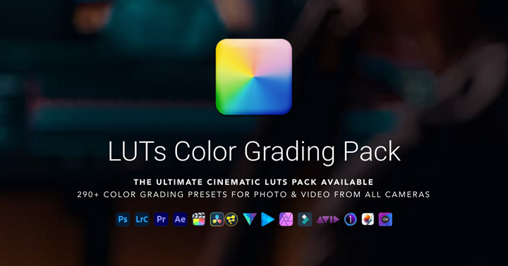 99+ LUTs Cinematic Color Grading Pack by IWLTBAP